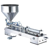 One Head Paste Filling Machine