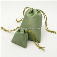 PU Gift Bag (KM-GTB0004), Jewelry Bag, Gift Pouch, Drawstring Bag, Promotion Packing Bag
