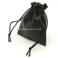 PU Gift Pouch/Bag (KM-GTB0003), Jewelry Bag, PU Drawstring Bag, Promotion Packing Bag