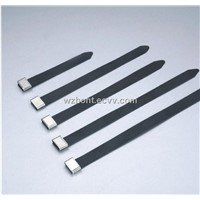 PVC Coated Stainless Steel Cable Tie,304 316 Steel Ball Lock Cable Ties