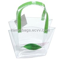 PVC Bag(Km-Pvb0052), Cosmetic Bag, PVC Handle Bag, Gift Packing Bag, Promotion Bag