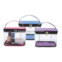 PVC Bag(Km-Pvb0136), PVC Zipper Bag, Promotion Packing Bag, Cosmetic Bag, Makeup Bag