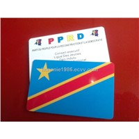 PVC card, plastic card, magnetic card, PET card