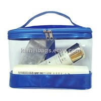 PVC Cosmetic Bag(KM-PVB0009), PVC Bag, Make up Bags, Toiletry Bags, Promotion Packing Bag, Gift Bag