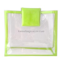 PVC Cosmetic Bag(KM-PVB0012), PVC Gift Bag, Promotion Packing Bag, PVC Packing Bag, Make up Bags
