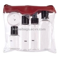 PVC Cosmetic Bag(Km-Pvb0084), PVC Packing Bag, PVC Bag, Promotion Gift Bag, PVC Zipper Bag