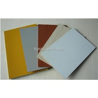Furniture Grade Plain MDF / Melamine MDF, Woodgrain Melamine Embossed MDF Panel