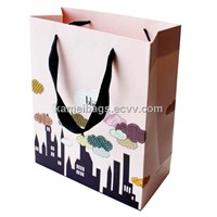 Paper Advertising Bag(Km-Pab0055), Paper Bag, Promotion Packing Bag, Shopping Bag