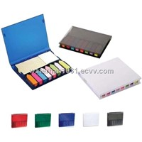 Plastic Office Gift Sticky Memo Pad Box