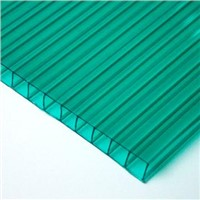 Plastic hollow polycarbonate sheet for greenhouse