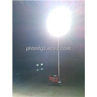 Portable Mobile Lighting Tower-Gasoline Generator