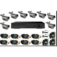 RE:8ch DVR camera kit,H.264,8 IR waterproof cameras,high relsolution! (Model NO.:KD-6308Kit)
