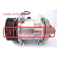 Sanden SD7H15 709 7H15 AC Compressor Pump with PV10 Pulley 123MM