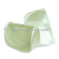 Satin Cosmetic Bags(KM-COB0008), Toiletry Bags, Make up Bags, Promotion Gift Bags, Beauty Bags