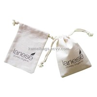 Small Cotton Pouch(Km-Dsb0100), Cotton Bag, Gift Pouch, Promotion Packing Bag