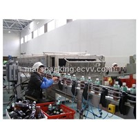Spraying Cooling Machine for Hot Filling Juice