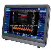 Touch Screen Color Doppler Ultrasound Scanner