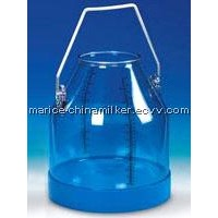 Transparent Milk Can 24L