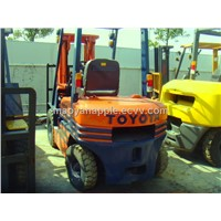 Used Toyota 3 Tons Forklift, Toyota FD30