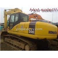 Wholesale for Used komatsu PC200-7 hydraulic excavator