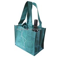 Wine Bags (KM-WNB0055), Non-Woven Bags, Gift Bags, Promotion Packing Bags