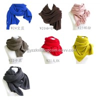 contton cashmere wool  jacquard scarf knitted lady men ladies fashion