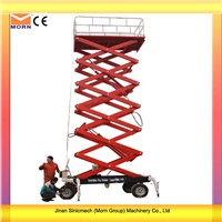 Four Wheels Mobile Electrical Scissor Lift