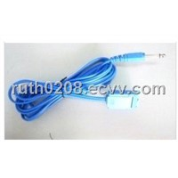 grounding pad cable,grounding pad medica cable,reusable grounding pad cable,cables connector