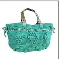 Knitted Handbag Burse Purse