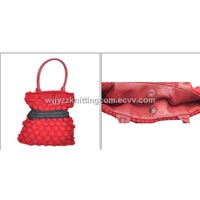 Knitted Handbag Purse Burse