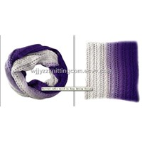 Knitted Snood Scarf Neckcloth