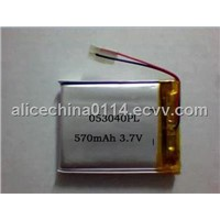 lithium polymer 405080 battey cell with PCB