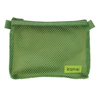 Mesh Stationery Bag(KM-MSB0002), Mesh Bags, Gift Packing Bags, Pencil Bag, Toiletry Bag