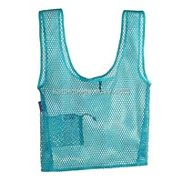 Mesh Bag(KM-MSB0059), t-Shirt Bag, Shopping Bags, Vest Bags, Promotion Gift Bag