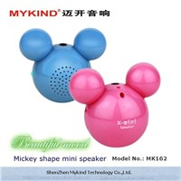 mickey shap portable mini speaker