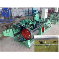 straight and reverse twisted barbed wire machine