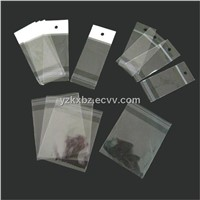 Transparent Packaging Bag with Header