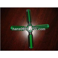 acetate green strips handles for screwdrivers