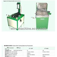 automatic full ball or half ball tin solder ball casting machine