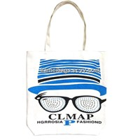 Canvas Beach Bag(Km-Bhb0002), Cotton Bag, Shopping Tote Bag, Folding Shopping Bag