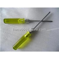 cellulose acetate yellow two-in-one screwdriver