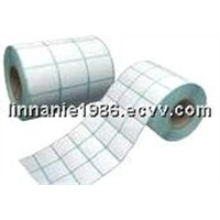 self-adhesive label, blank label, paper label, transparent label