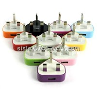 for iphone colorful wall charger uk plug