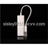 white USB 2.0 to Ethernet Adapter for 11.6 Inch 13.3 Inch Apple Macbook