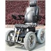Electric Power Chair, 4 Wheel Climb Stair, Electric 4 Wheelchair