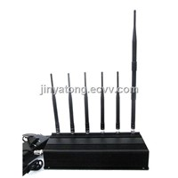 High Power 6 Antennas GPS&LOJACK Jammer