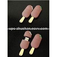 Fashion Custom Icecream USB Flash Memory Driver