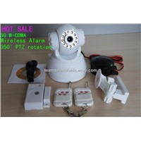 Home Security Burglar 3G Camera GSM Alarm Systems with Visual Phone, W-CDMA Network, SMS/MMS Alarms
