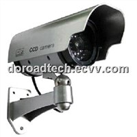 Indoor/Outdoor Dummy CCTV Camera (With LED Light, Motion Detection Moving)