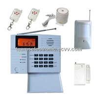 PSTN/GSM Wireless Intruder Alarm with 32 Wireless and 6 Wired Zones, SMS/Voice Recording